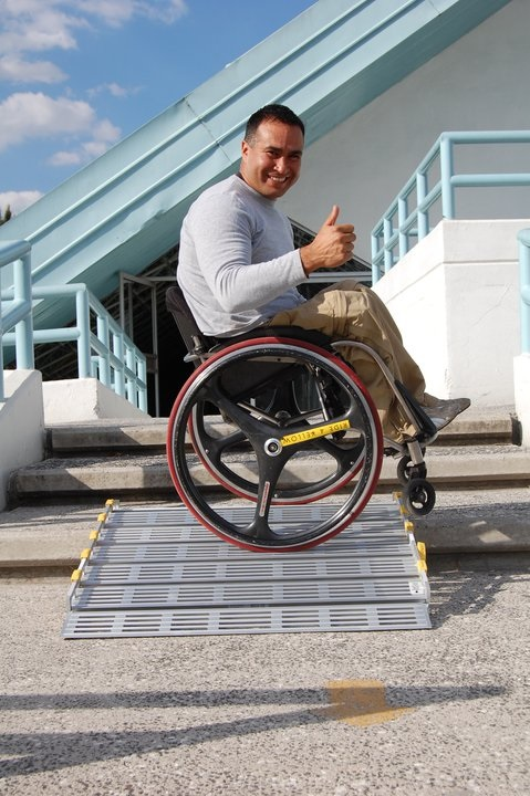 Roll-A-Ramp Discapacidad